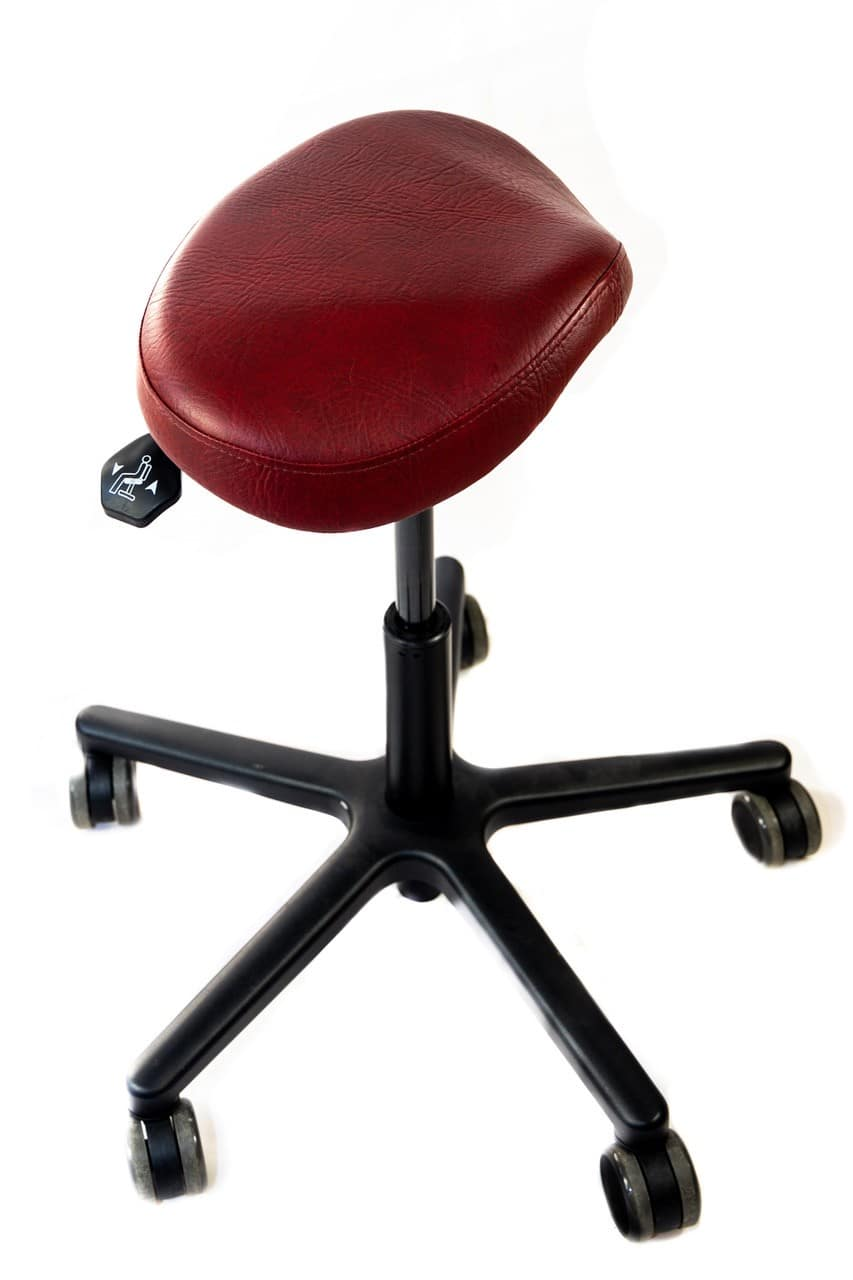 Artist Chair saddle shape